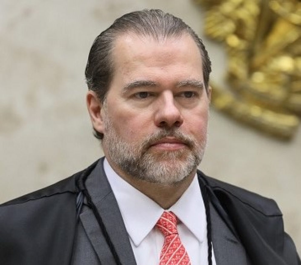 O presidente do Supremo Tribunal Federal (STF), Dias Toffoli