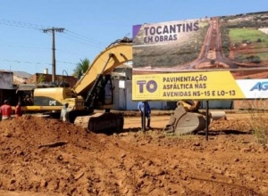 Governo do Tocantins inicia obras na parte sul da Avenida NS 15, em Palmas