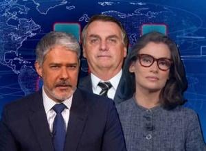 Jornal Nacional exibe 13 minutos de terror para Bolsonaro