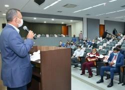 Antonio Andrade reafirma compromisso com a emancipação de Luzimangues