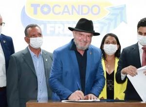 Governador Carlesse lança Refis e demais medidas para fomentar o setor produtivo do Tocantins