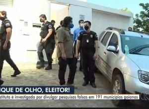 Grupo que fraudava pesquisas eleitorais atuou em 191 cidades goianas