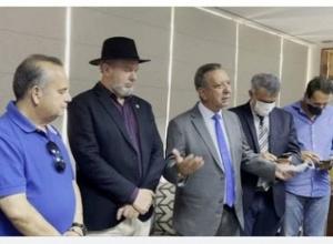 Assembleia recebe visita de govenador, senador, ministro e deputados federais