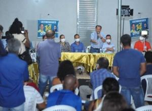 Com a presença de deputados e lideranças, Otoniel inaugura escritório de campanha em Luzimangues