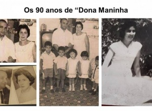 """Os 90 anos de """"Dona Maninha: a trajetória de uma mulher que expressa bem o significado de uma família alicerçada na fraternidade"""