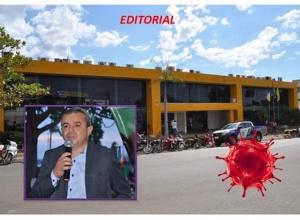 URGENTE:  ADMINISTRAÇÃO DE RONIVON FORA DOS TRILHOS E SOB SUSPEITAS. SAÚDE DE LUZIMANGUES ABANDONADA