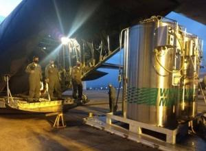 Manaus recebe cilindros de oxigênio transportados pela Força Aérea