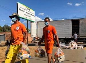 Governo do Tocantins inicia mais uma etapa de entrega de alimentos atendendo mais 8.400 famílias