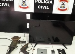 Em Porto Nacional, Polícia Civil recupera objetos furtados e prende mulher por receptação