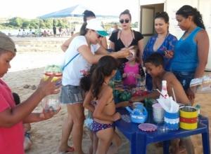 Praia da Gaivota volta a receber ações de educação ambiental