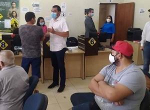 Vice-governador, Wanderlei Barbosa, visita Detran de Taquaralto e acena possibilidade de mudança para outro local para melhor atender à população