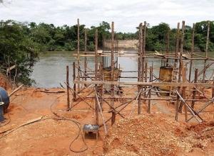 Governo do Tocantins constrói primeira ponte sobre o rio Manoel Alves e beneficia comunidade