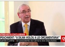 Eduardo Cunha: prender Lula foi absurdo, mas não quero PT de volta (vídeo)