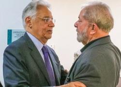 """FHC sobre Lula: """"Quem não tem cão caça com gato"""""""