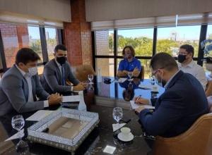 Membros do Poder Judiciário recebem secretário da Seciju e superintendente do Procon-TO para discutir ações referentes à Lei do Superendividamento