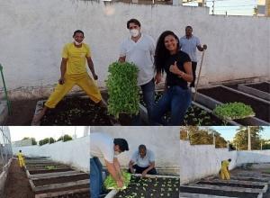 Eduardo Fortes lança parceria por meio do seu projeto social Horta Comunitária com a CPP de Gurupi e com a Unidade Penal Feminina de Talismã