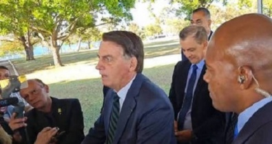 Bolsonaro diz que Lula vai expropriar áreas rurais se for eleito