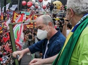 SP: Ciro e Paulinho são vaiados; Haddad e Boulos pedem união