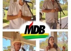 MDB PALMENSE REALIZA REUNIÃO DE ACORDO COM O ESTABELECIDO
