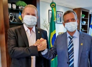 Governador Carlesse afirma que leitos de UTI em Porto Nacional são conquista da população e destaca articulação do deputado Antonio Andrade