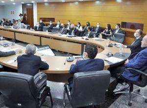 Secretários relatam, ao Governador Carlesse, melhora nos índices da LRF