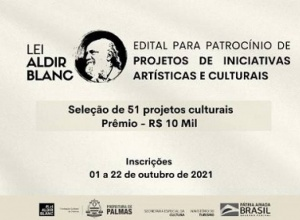 Última semana para Inscrição de projetos no edital da Lei Aldir Blanc 2021