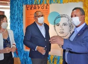 Governador em exercício visita Museu Histórico do Tocantins e exposição permanente em homenagem a Siqueira Campos