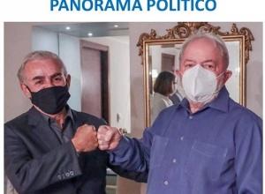 ENCONTRO ENTRE PAULO MOURÃO E LULA SIGNIFICA APROXIMAÇÃO COM O CLÃ DOS ABREU