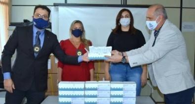 Secretaria da Saúde recebe doações de testes rápidos da Receita Federal do Brasil