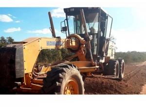 Governo do Tocantins realiza manutenção  da TO-255, na região do Jalapão