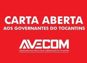 CARTA ABERTA AOS GOVERNANTES DO TOCANTINS
