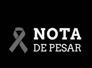 Nota de pesar pelo falecimento do vereador Cícero Cruz, prefeito interino de Araguanã