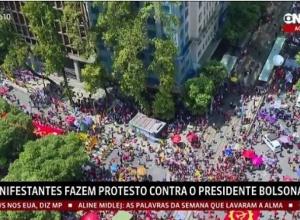 Oposição volta às ruas em ato contra Bolsonaro, mas com pouca adesão além da esquerda