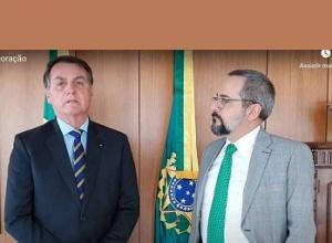 Ministro da Educação, Abraham Weintraub deixa o governo