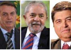 Bolsonaro lidera pesquisa seguido por Lula de perto, e Datena assume o 3º lugar