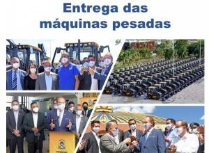 Governador Carlesse garante que entrega de máquinas pesadas vai impulsionar desenvolvimento regional no Tocantins
