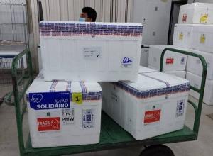 Tocantins recebe a 9° remessa de vacinas contra a Covid-19 e amplia grupo prioritário