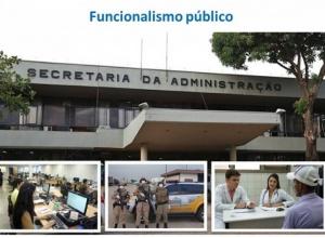 Pessoal ocupado no governo do TO diminui 21,7% em 2019; número de servidores municipais cresce 1,1%