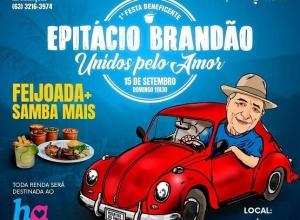 Em homenagem a Epitácio Brandão, advogados e amigos promovem festa com feijoada beneficente em prol do Hospital do Amor
