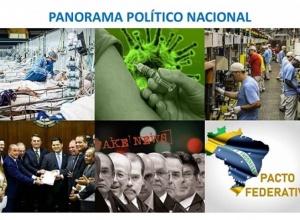 SÓ UM PACTO FEDERATIVO, COM REFORMAS NO CONGRESSO E AQUIETAÇÃO DO PRESIDENTE PODE SALVAR O BRASIL