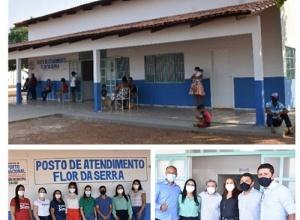 Prefeitura de Porto Nacional entrega reforma do Posto de Saúde do Assentamento Flor da Serra