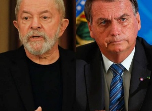 Lula tem 34% contra 31% de Bolsonaro no 1º turno, diz PoderData