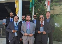 Policiais Civis do Tocantins receberam condecoração da seccional da Ordem dos Advogados do Brasil no Tocantins
