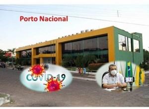 Porto Nacional mantém restrições em novo Decreto de enfrentamento à Covid -19