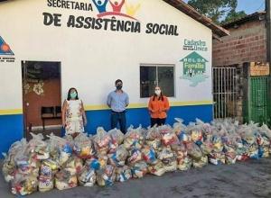 Governo do Tocantins já atendeu mais de 180 mil famílias com entrega de cestas básicas em todo o Estado