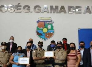 Polícia Militar e Conselho comunitário de Segurança são homenageados em Porto Nacional