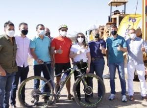 Governo do Tocantins inicia obra de ciclovia alternativa que liga Palmas a Taquaruçu