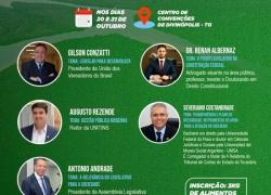 A relevância do sociedade será tema de palestra do presidente da Aleto no I Simpósio de Vereadores do Vale do Legislativo para a Araguaia