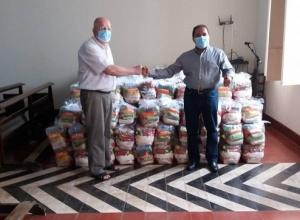 Governo do Tocantins atende mais de 5 mil famílias com a entrega de cestas básicas na região central
