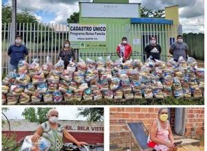 Governo do Tocantins atende mais de 20 mil famílias na região do Bico do Papagaio com cestas básicas